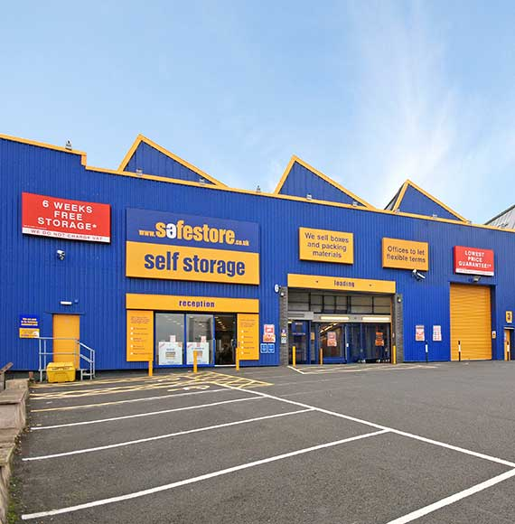 Safestore Self Storage in Tamworth