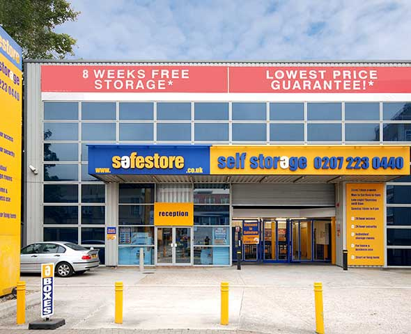 Safestore Self Storage in Pimlico