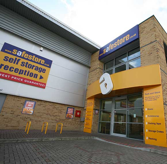 Safestore Self Storage in Aldershot