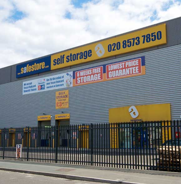 Safestore Self Storage in Southall