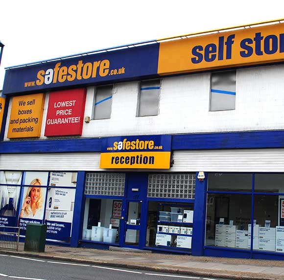 Safestore Self Storage in Burnt Oak