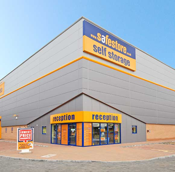 Safestore Self Storage in Felixstowe