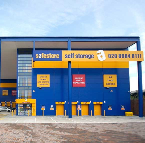 Safestore Self Storage in East Ham