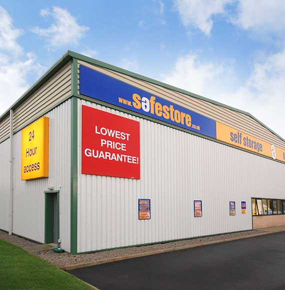 Safestore Self Storage in Nelson