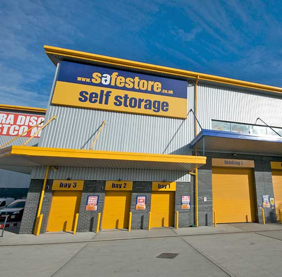 Safestore Self Storage in Edmonton