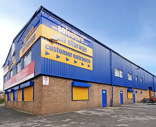 Safestore Self Storage in Eccles