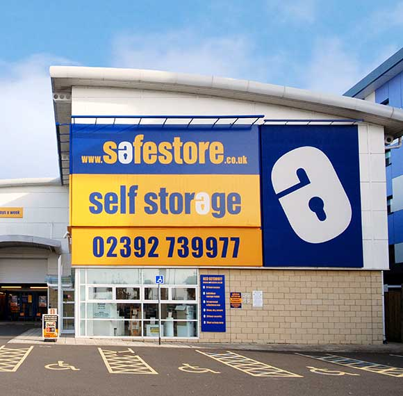 Safestore Self Storage in Southsea