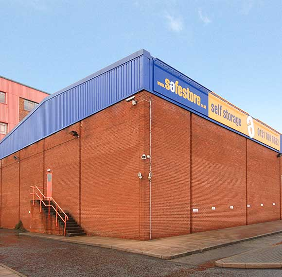 Safestore Self Storage in Huyton