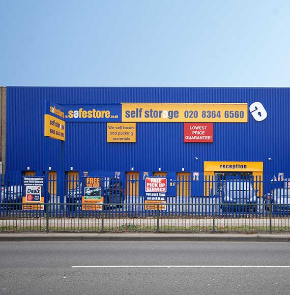 Safestore Self Storage in Cheshunt