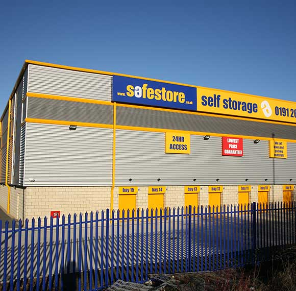Safestore Self Storage in Northumberland
