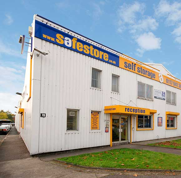 Safestore Self Storage in Clevedon