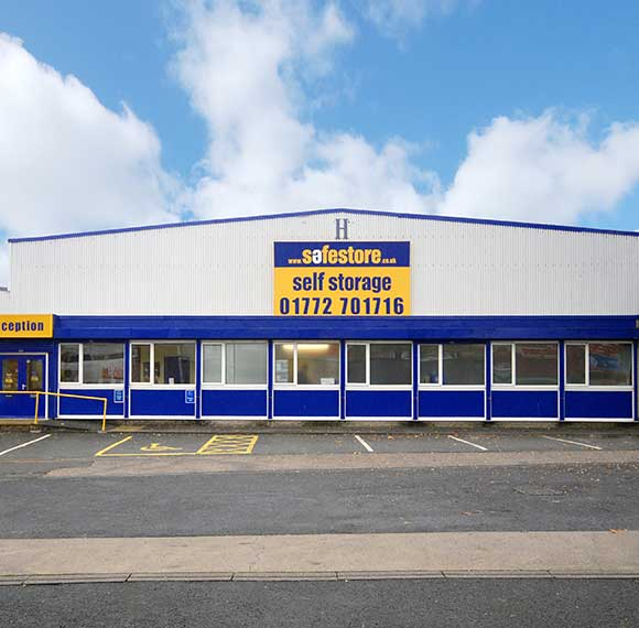 Safestore Self Storage in Blackpool