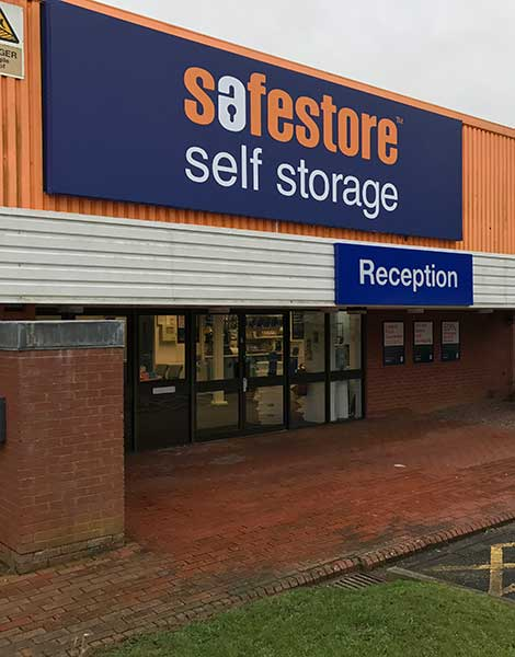 Safestore Self Storage in Saltash