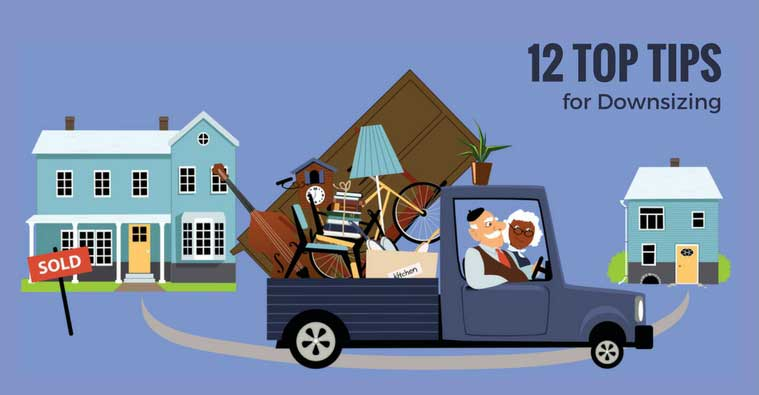 12 Top Tips for Downsizing