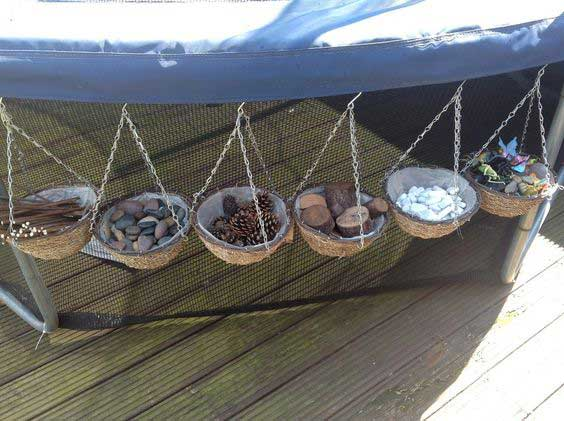 Hanging Basket Storage