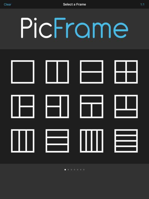 pic frame app for creating photo collages