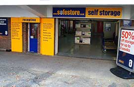 Safestore Self Storage in Camden