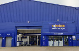 Safestore Self Storage in Basildon