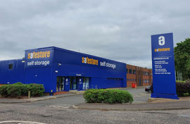 Safestore Self Storage in Edinburgh Fort Kinnaird