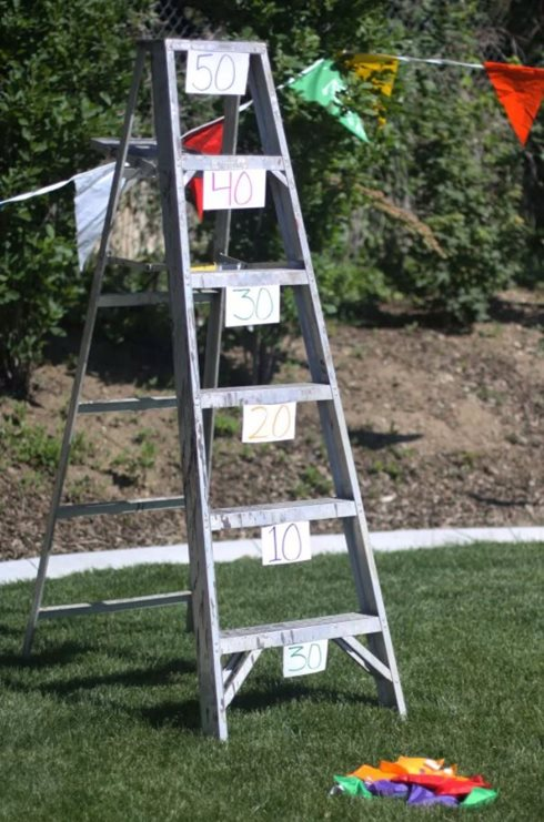Ladder toss