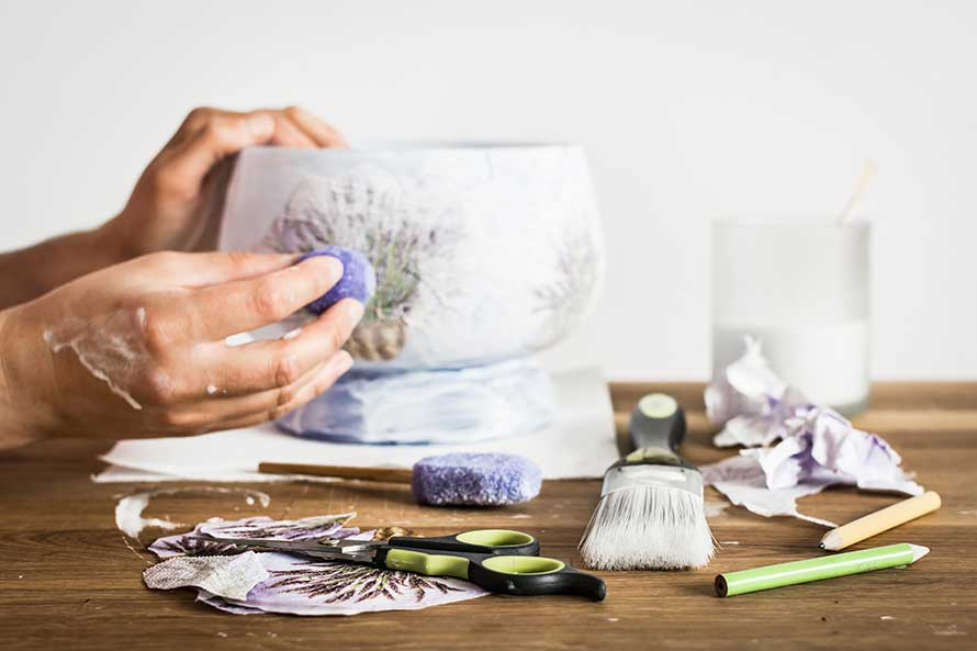 9 Stunning Decoupage Ideas