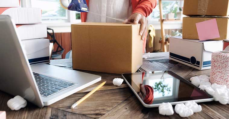 How to organise your eBay home office