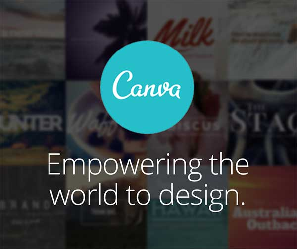 Canva online photo editor and document designer