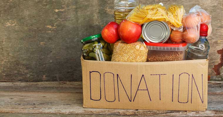 What not to donate to a food bank