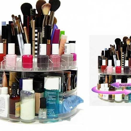 Organising Makeup using Carousel