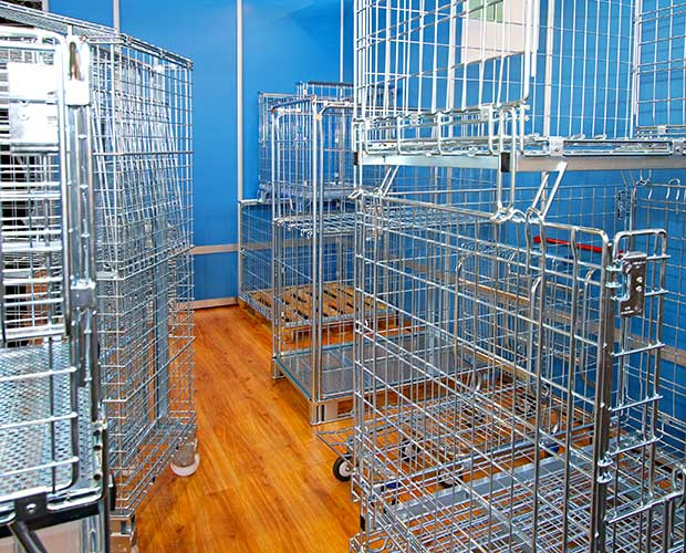 Storage Cages for Student Storage