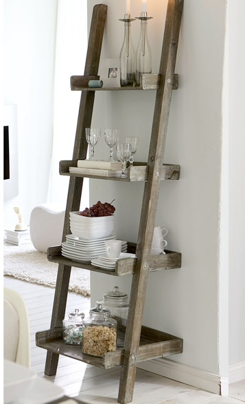 Ladder Shelves   Love Letters To Home