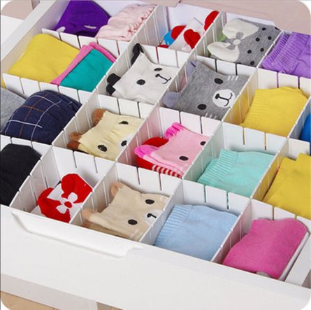 Pants and Sock Drawer Organiser