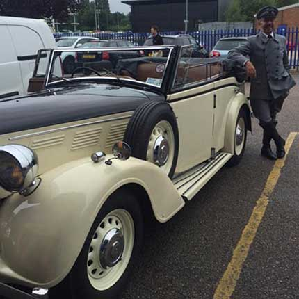 Monopoly Roadster at Safestore Crawley Self Storage