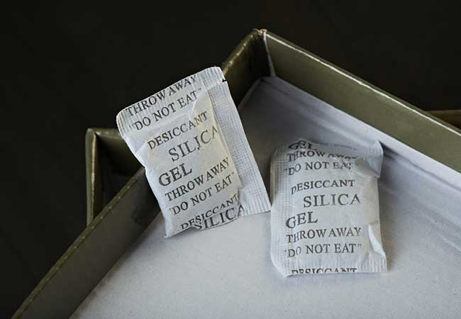 Silica Gel for storing Wedding Dress