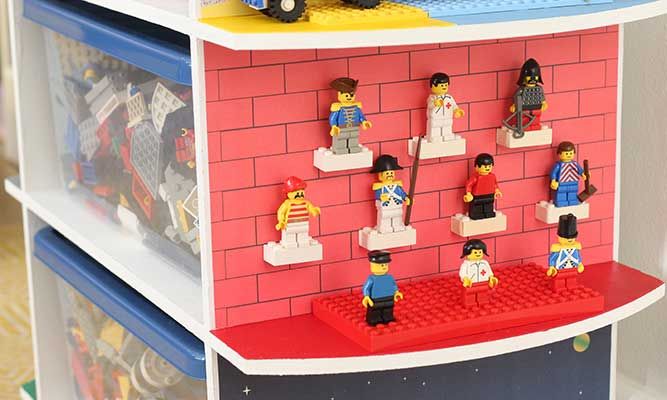 How to create storage for Lego