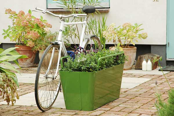 Plant Lock Secure Bike Storage
