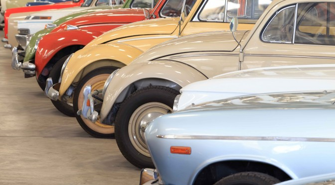 How to Store Classic Cars