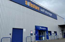 Safestore Self Storage in Glasgow North