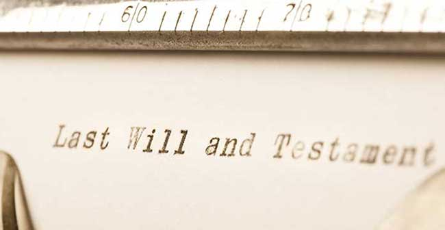 Get your will written for free in March 2017