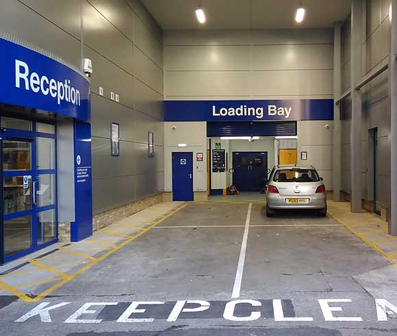 Loading Bay Acton Safestore