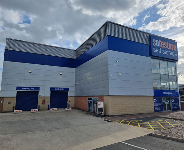 Safestore Self Storage Leicester storage units to let Leicester